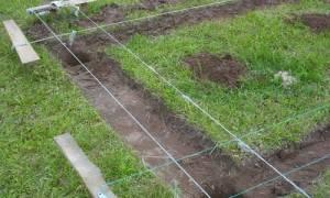 Для чего снимают плодородный слой земли перед заливкой фундамента