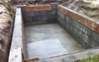 Как сделать фундамент для дома своими руками с погребом?