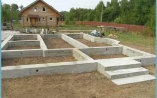 Фундамент под теплицу из бетона своими руками схема с закладными