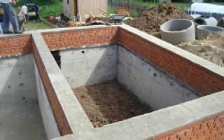 Как залить фундамент с подвалом под дом своими руками?