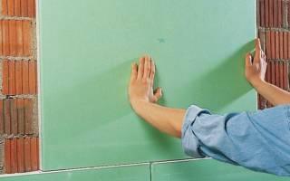 Чем клеить гипсокартон к стене клеем или монтажной пеной