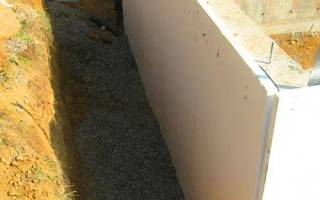 Как утеплить фундамент деревянного дома снаружи своими руками?
