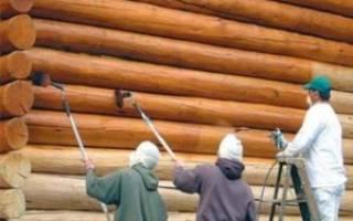 Нужно ли красить деревянное покрытие из блок-хауса