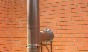 Расстояние от дымника до трубы