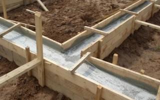 Какой фундамент нужен для дома из газобетона в один этаж?
