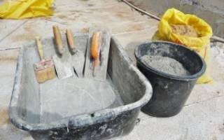 Сколько нужно песка и цемента на куб раствора для фундамента