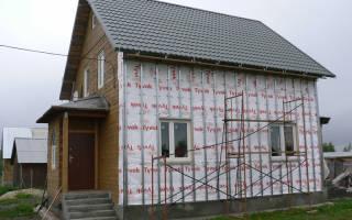 Утепление деревянного дома снаружи минватой под сайдинг пароизоляция