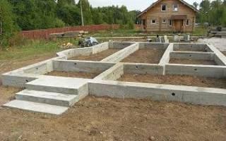 Какую нагрузку выдержит фундамент 120 см шириной 50 см?