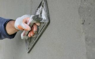 Шпатлевка наружная по бетону