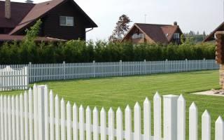 Нормативы высоты забора между соседями в частном доме по закону