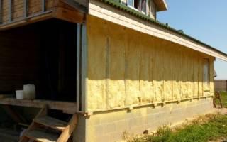 Как утеплить фасад дома деревянного дома?