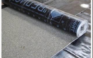 Сколько метров рубероида в одном рулоне