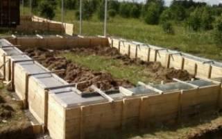Как правильно залить фундамент под дом из бруса своими руками?
