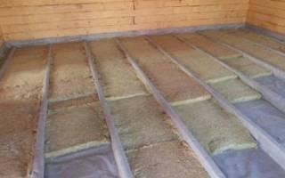 Как укладывать пароизоляцию на пол в деревянном доме?
