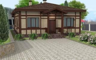 Как сделать фасад дома в немецком стиле своими руками?