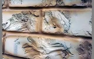 Как сделать искусственный камень на стене своими руками?