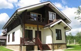 Варианты отделки фасадов домов в стиле шале