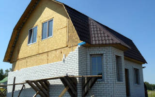 Можно ли обложить кирпичом дом из сип панелей?