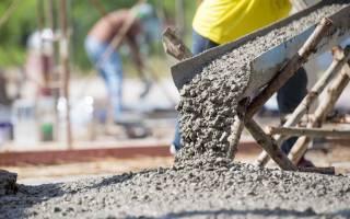 Сколько надо кг цемента на 1 куб бетона для фундамента