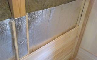Пароизоляция на стену с внутренней стороны
