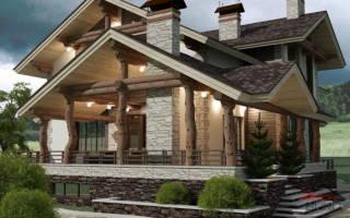 Архитектурное бюро дачные дома в стиле шале
