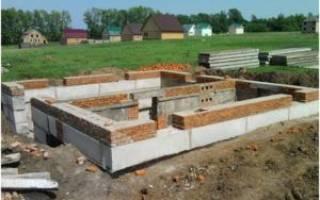 Что лучше блоки фбс или ленточный фундамент под деревянный дом?