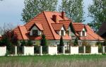 Как покрыть металлочерепицей четырехскатную крышу?