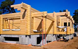 Какой фундамент лучше для дома из бруса для постоянного проживания?