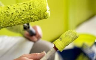 Норма расхода масляной краски на 1м2 по штукатурке