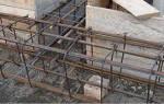 Как делать арматурный каркас для ленточного фундамента дома из бруса?