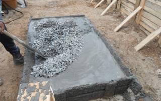 В какой пропорции смешивать цемент 500 с песком для фундамента