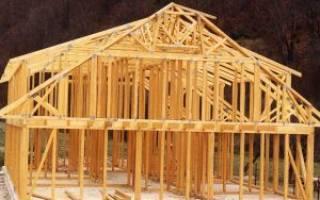Как построить дом каркасный дом от фундамента до крыши?