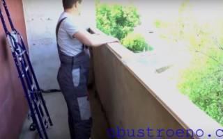 Как установить раздвижные окна на балконе своими руками?