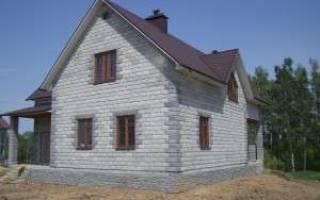 Можно ли дом из пеноблоков ставить на свайный фундамент?