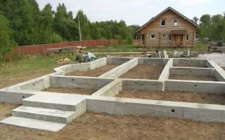 Как сделать фундамент для дома своими от начала до конца?