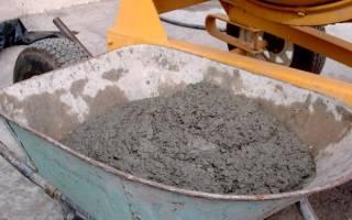 Как разводить цемент с песком пропорции для фундамента в ведрах?