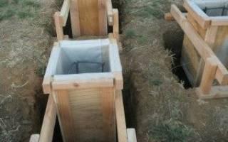 Как правильно заливать фундамент под дом своими руками под пеноблок?