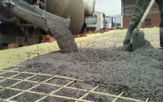 Марка бетона для ленточного фундамента частного дома из газобетона