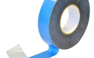 Двусторонняя клейкая лента для гидро и пароизоляции