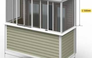 Сколько должен быть размер панорамного окна на балкон размеры