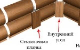 Размеры деревянного блок-хауса