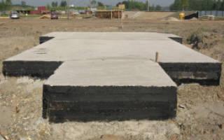 Монолитная плита фундамента толщина для дома из газобетона на песке