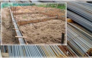 Какая арматура нужна для ленточного фундамента частного дома с мансардой?
