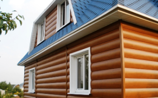 Отделка фасада частного дома блок хаусом плюсы и минусы