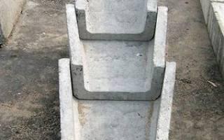 Преимущества и недостатки водоотводных лотков из бетона