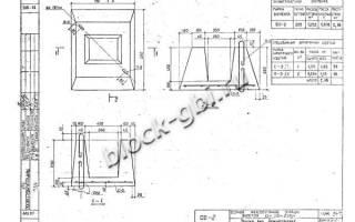 Детали ограждения марка фо ф3 фундаменты под сборные железобетонные ограды