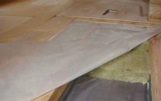 Межэтажное перекрытие по деревянным балкам утепление и пароизоляция