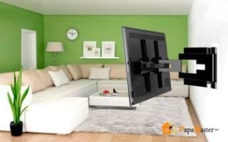 Как на стену из гипсокартона повесить телевизор на стену?