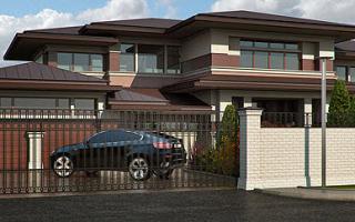 Готовые проекты современных домов и коттеджей в стиле райта