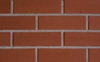 Затирка для клинкерной плитки на фасаде